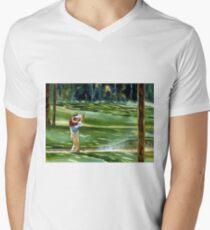 Favourite Pastime Men's V-Neck T-Shirt