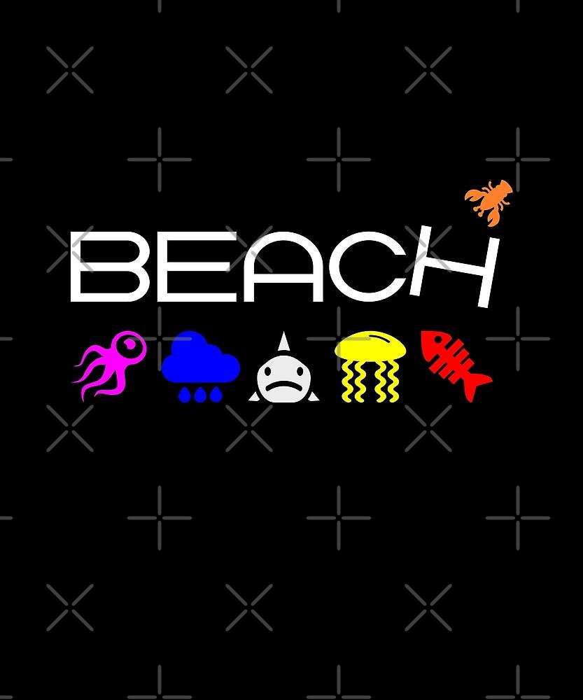 Anti-Beach Icons Color Dark by TinyStarAmerica
