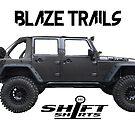 Shift Shirts Blaze Trails - Rubicon Inspired by ShiftShirts