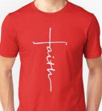 Camiseta ajustada Faith Cross