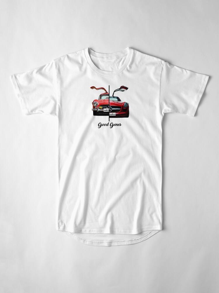 Alternate view of Shift Shirts Good Genes - 300L Gullwing Inspired Long T-Shirt