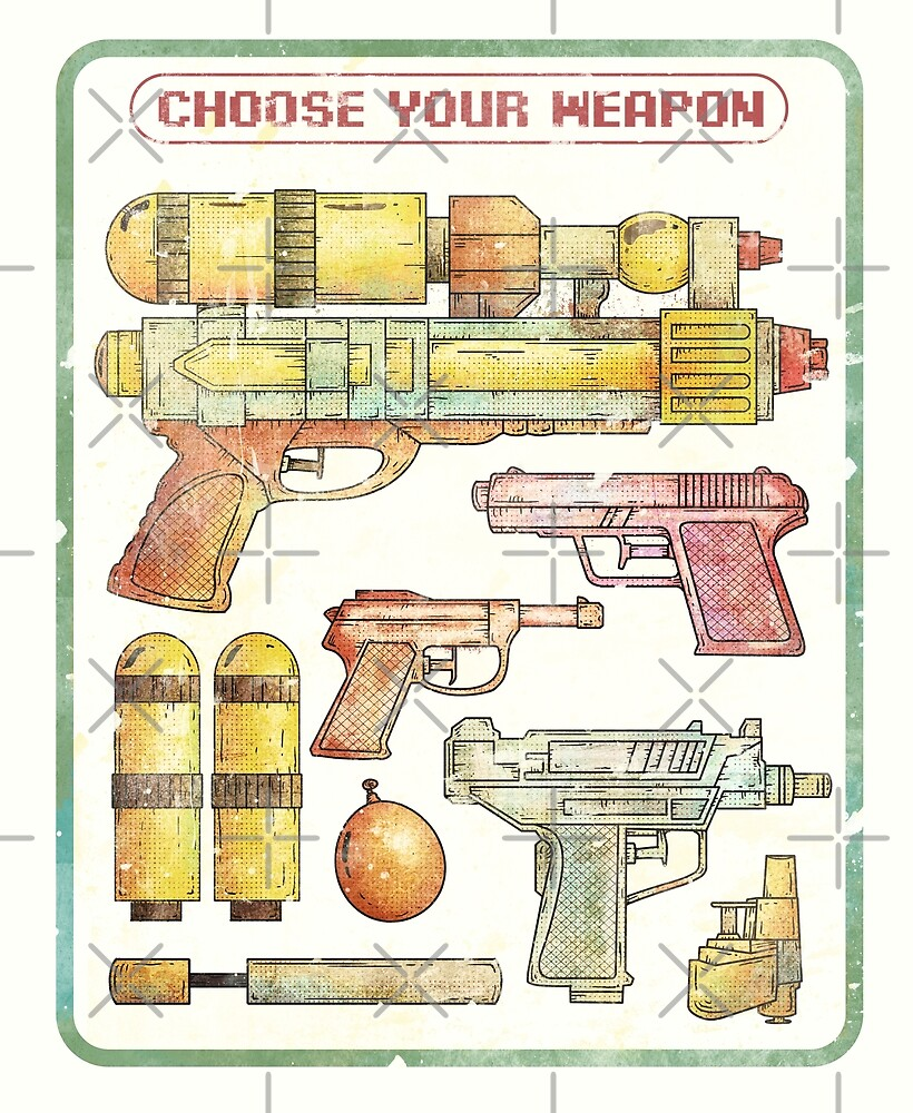 Choose your Weapon by mikekoubou