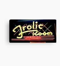 Frolic Room Canvas Print