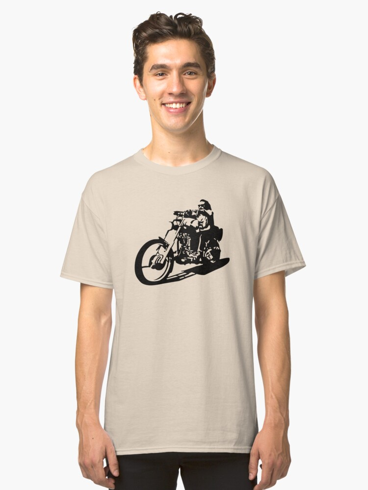 custom motorcycle Classic T-Shirt Front