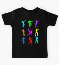 FORTNITE Emote Colorful Kids Tee