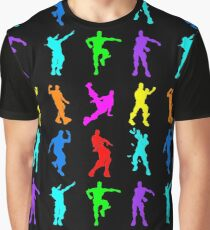 FORTNITE Emote Colorful Graphic T-Shirt