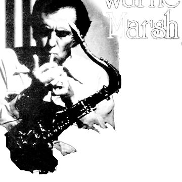 """Warne Marsh"" - T Shirt by MaxDevereaux"