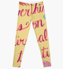 Everything is on Fire All the TIme Leggings