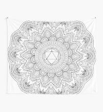 Odesza Symbol Mandala Wall Tapestry