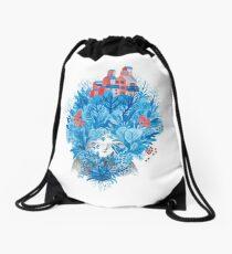 We are nature Drawstring Bag
