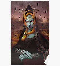 Mona Midna Poster