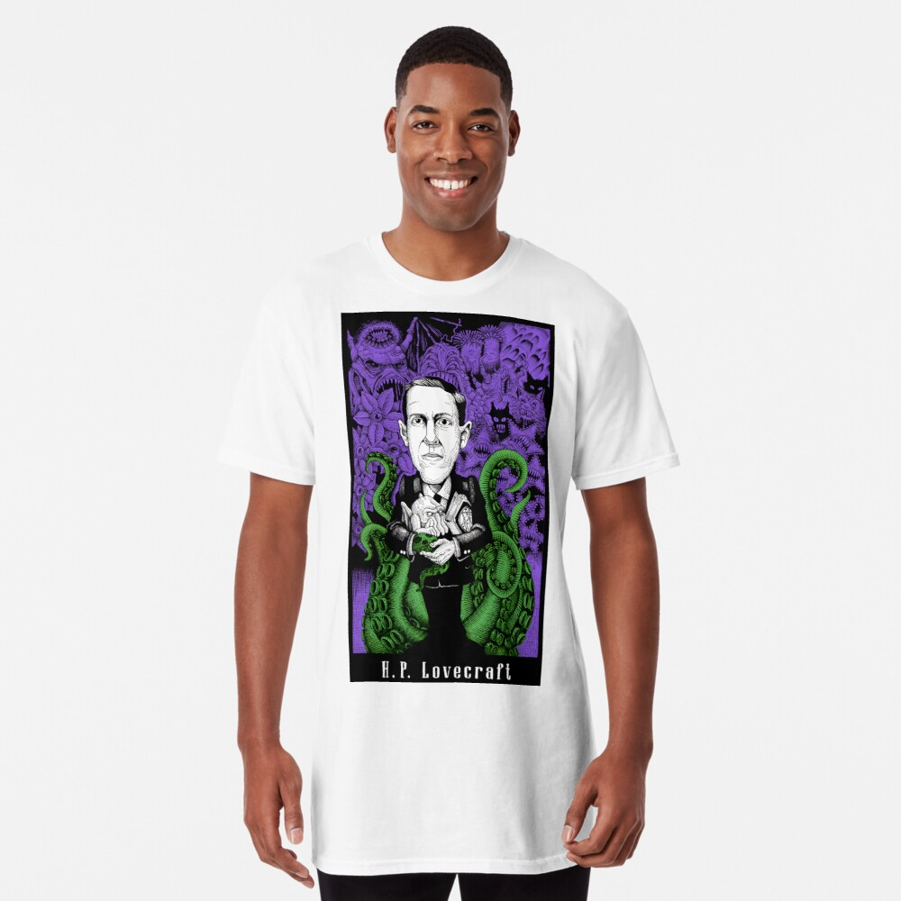 Lovecraft (Color) Long T-Shirt