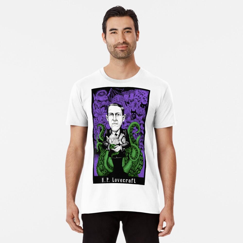 Lovecraft (Color) Premium T-Shirt