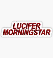 Lucifer Morningstar (Lucifer) Sticker