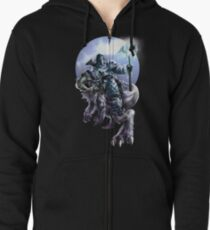 Hail to the Frost Bearer Zipped Hoodie
