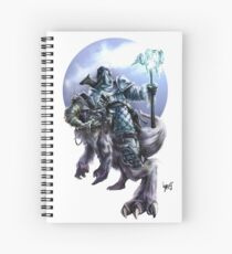 Hail to the Frost Bearer Spiral Notebook