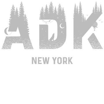 Tupper Lake Adirondack Mountains New York T-Shirt by christianadams