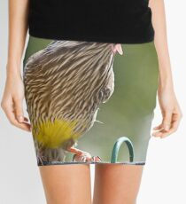 Australian Wattle Bird. Mini Skirt