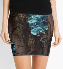 Flowers On The Wall Mini Skirt