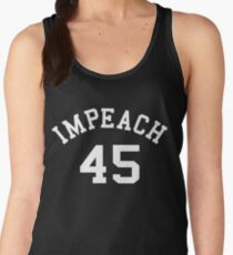 Impeach 45 (white letters) Women's Tank Top