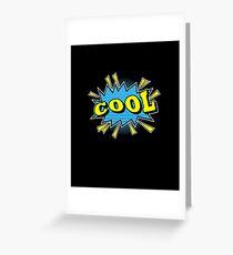cool Greeting Card