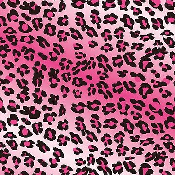 Pink and White Leopard Print by Ange26