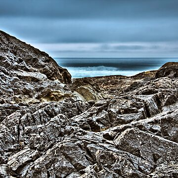 Cox Bay on the Rocks by lambj