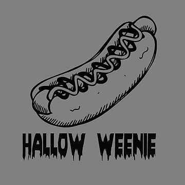 Halloween Hallow Weenie by trushirtdesigns