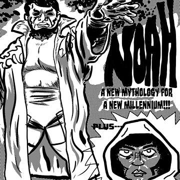 NOAH KRACKLE COVER by mustachiosaurus