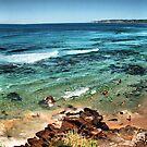 Bar Beach panorama by Throwing  Buckets Magazine