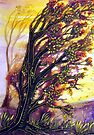 Autumn's Breeze - Trees by Linda Callaghan