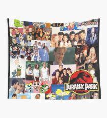 90er Nostalgie Wandbehang