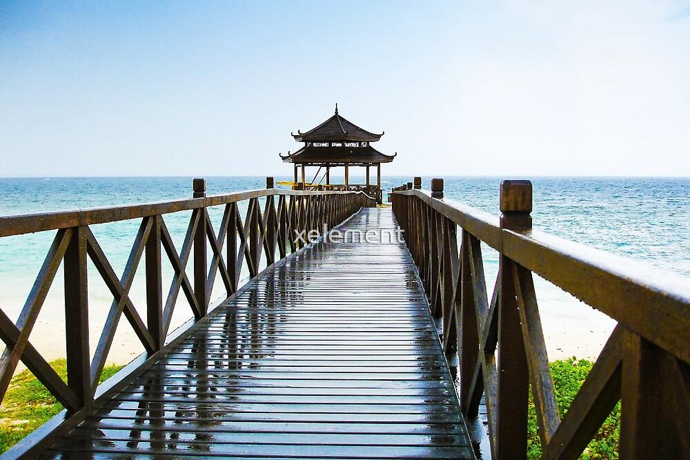 Hainan Island To The Beach by Victor He