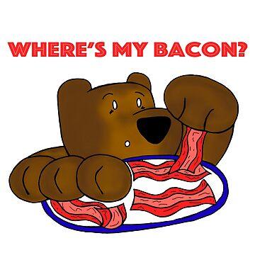 Bacon Bear - Where's My Bacon? by BearlyGoin