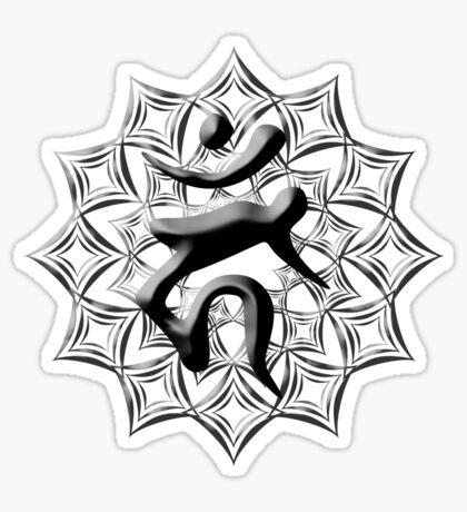 Guardian Buddha: Fudo Myo-o - Year of the Rooster Sticker