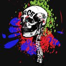 RGB Skull by Erica Rosario