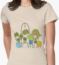 Plant life Women's Fitted T-Shirt