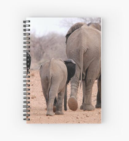 THE 2016 DROUGHT AND THE AFRICAN ELEPHANT - DESPERATELY SEEKING FOOD Spiral Notebook