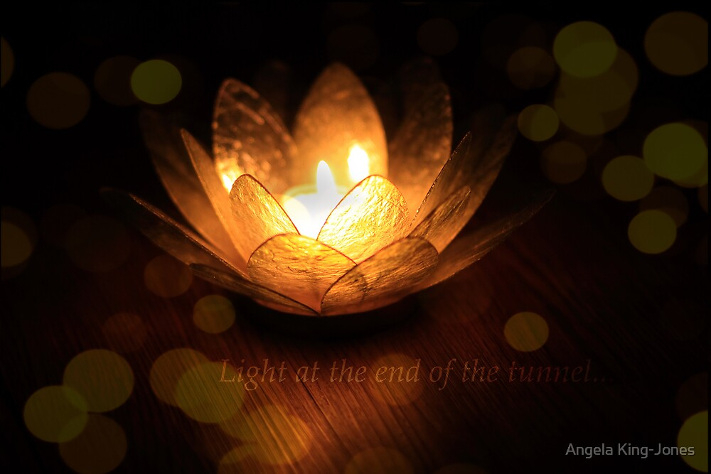 Light at the end of the tunnel by Angela King-Jones