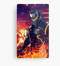 Fortnite Epic Omega Metal Print