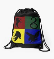 School of Magic Crest Drawstring Bag