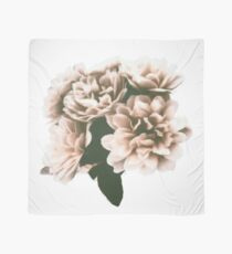 Blush Pink Painted Flower Bloom Scarf