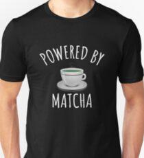 Powered By Matcha - Cute Green Tea Gift Unisex T-Shirt