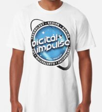 Digital-Impulse Long T-Shirt