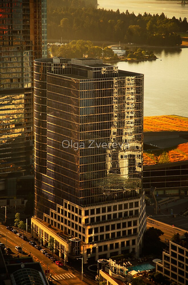 Downtown Vancouver, British Columbia, Canada by Olga Zvereva