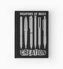Weapons Of Mass Creation Hardcover Journal
