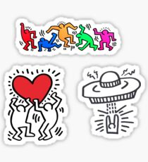 haring collection Sticker