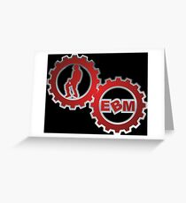 EBM Logo Greeting Card