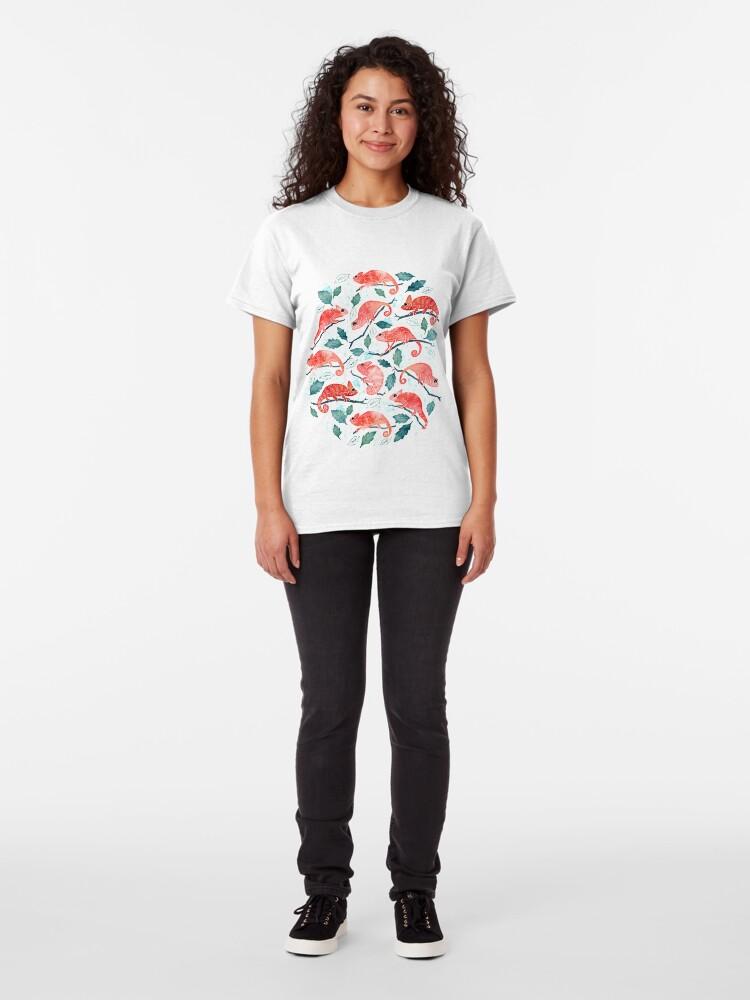 Alternate view of Chameleon garden Classic T-Shirt