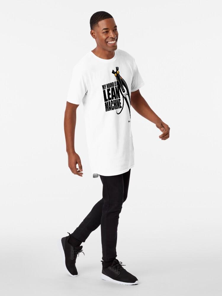 Vista alternativa de Camiseta larga Máquina Lean